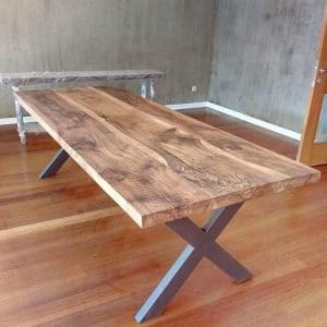 Wooden Table Solid Walnut Tree - 0050