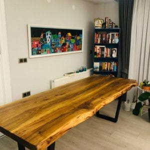 Wooden Table Walnut Tree - 0052