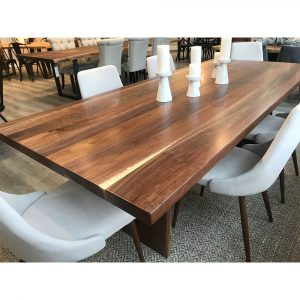 Wooden Dining Table Walnut Wood - 0058